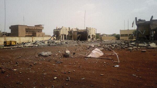 Une attaque terroriste a ravagé le quartier général malien de la force du G5 Sahel, le 29 juin 2018. - Sputnik France