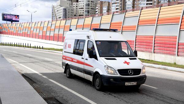 Une ambulance à Moscou - Sputnik France
