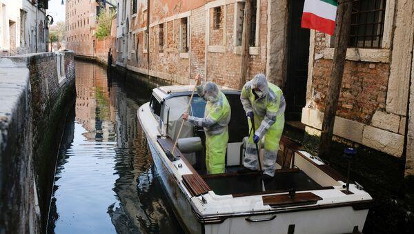 Situation à Venise dans le contexte du coronavirus - Sputnik France