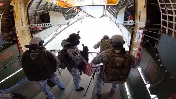 Des militaires des Forces aéroportées russes - Sputnik France