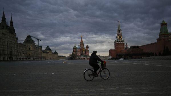 Москва во время режима повышенной готовности из-за коронавируса - Sputnik France