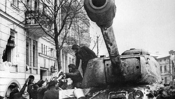 Légendaires: les chars soviétiques de la Seconde Guerre mondiale   - Sputnik France