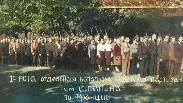 Le bataillon soviétique de résistants au nom de Staline, créé par Vassili Porik - Sputnik France