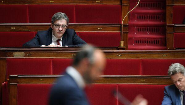 Jean-Luc Mélenchon lors du discours d'Édouard Philippe - Sputnik France