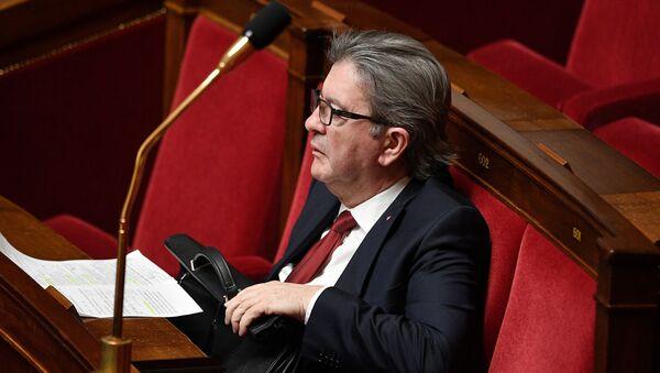 Jean-Luc Mélenchon lors du discours du Premier ministre sur la stratégie nationale de déconfinement, 28 avril 2020 - Sputnik France