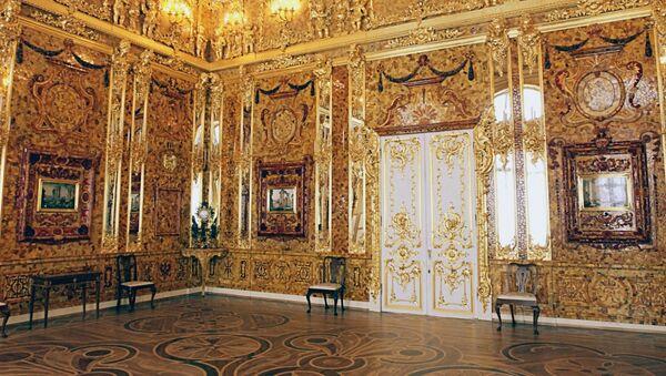 La deuxième vie de la célèbre Chambre d'ambre   - Sputnik France