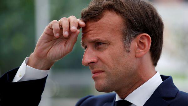 Emmanuel Macron (archives) - Sputnik France