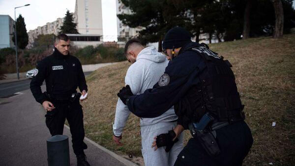 police nationale en banlieue - Sputnik France