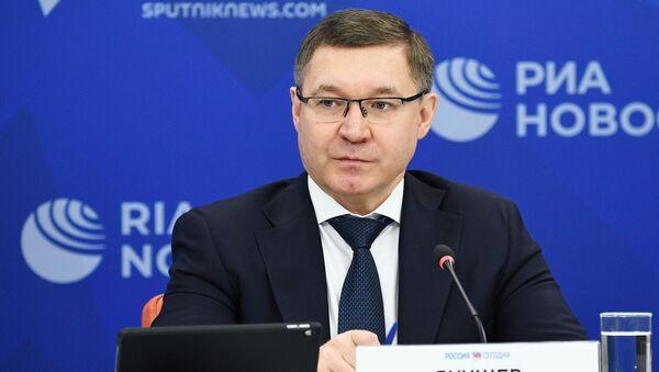 Ministre russe de la Construction et du Logement Vladimir Iakouchev  - Sputnik France