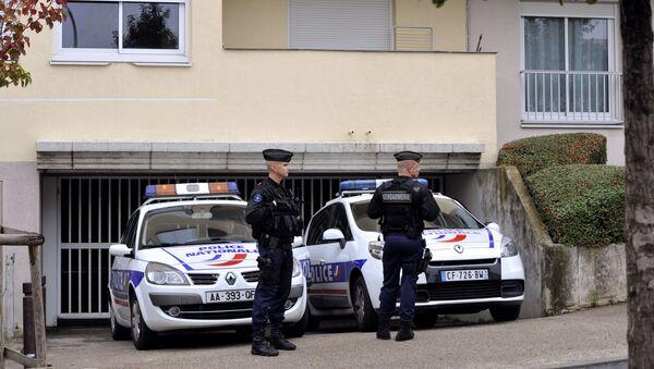 des policiers à Torcy (image d'illustration) - Sputnik France