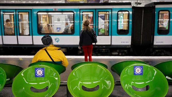 le métro parisien, image d'illustration - Sputnik France