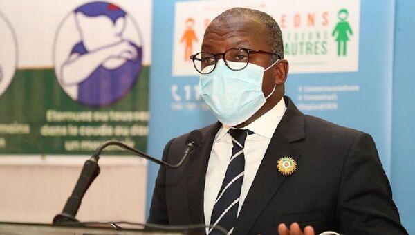 Le ministre ivoirien de l'Équipement et de l'entretien routier Amédé Kofffi Kouakou - Sputnik France