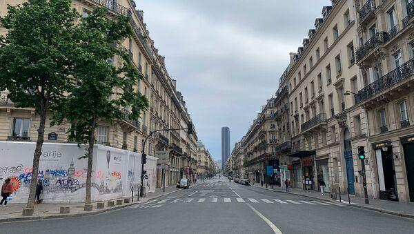 Paris lors du confinement, 5 mai 2020 - Sputnik France