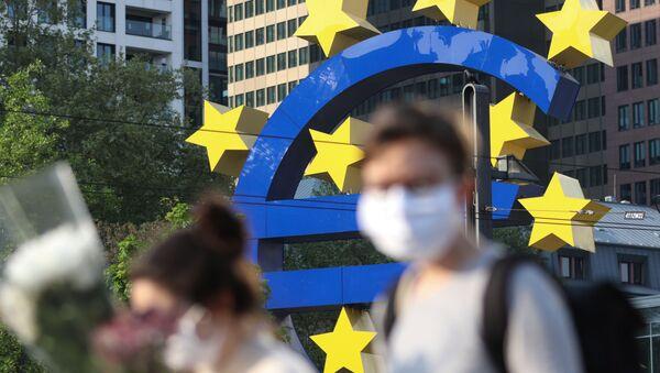 Le siège de la BCE, à Francfort, en avril 2020. - Sputnik France