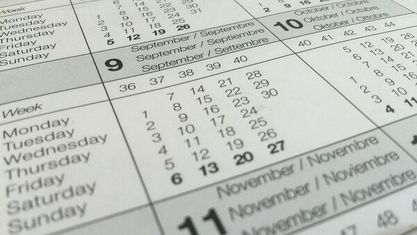 calendrier - Sputnik France