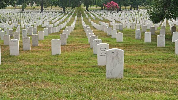 Un cimetière américain - Sputnik France
