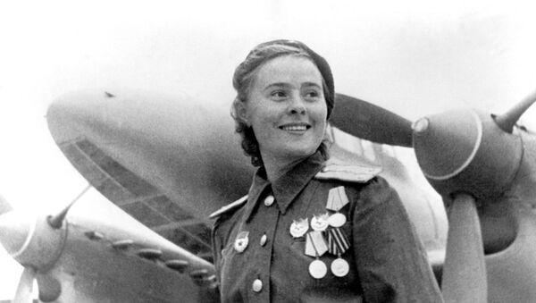 Maria Dolina, aviatrice soviétique, 1944 - Sputnik France