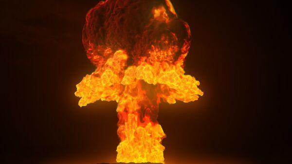 Une explosion nucléaire - Sputnik France