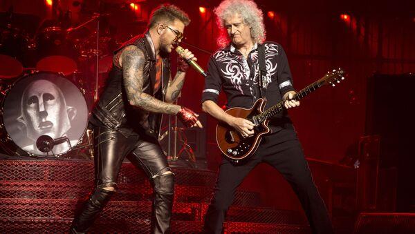 Brian May et Adam Lambert - Sputnik France