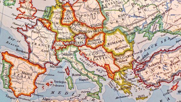 Une carte du monde (image d'illustration) - Sputnik France