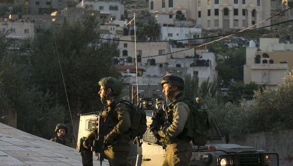 Les forces israéliennes lors d'une opération militaire à Jénine, dans le nord de la Cisjordanie, image d'illustration - Sputnik France