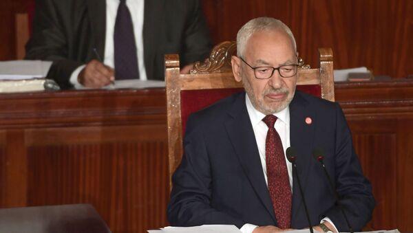 Rached Ghannouchi, le président du Parlement tunisien, chef du parti islamiste Ennahdha - Sputnik France