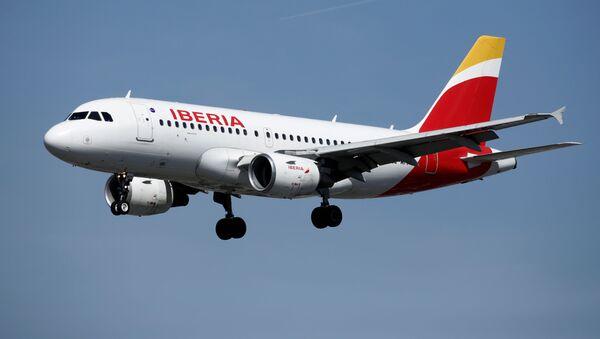 Un avión de Iberia  - Sputnik France
