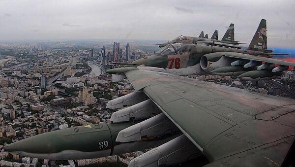 Parade aérienne au-dessus de Moscou  - Sputnik France