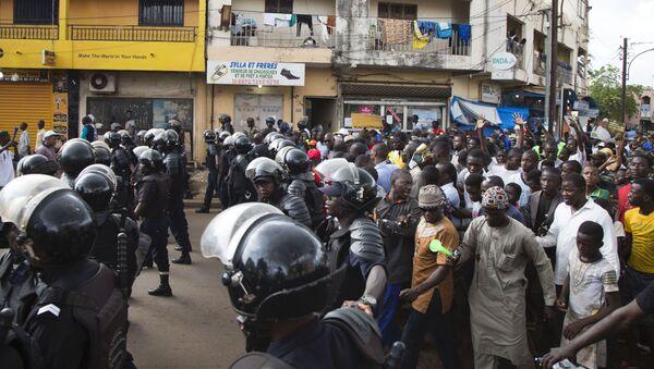 Manifestation à Bamako - Sputnik France