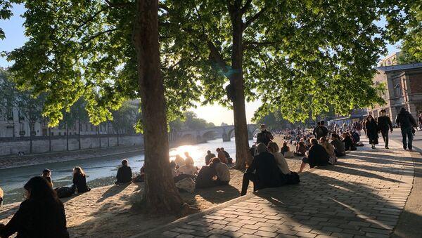 Paris lors de la cinquième journée de déconfinement, 15 mai 2020  - Sputnik France