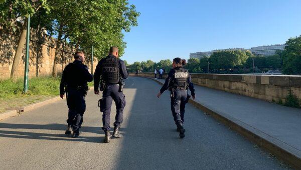 Des policiers à Paris - Sputnik France