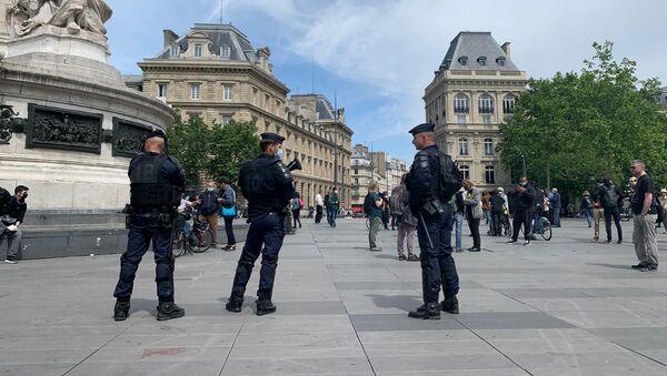 Police à Paris - Sputnik France