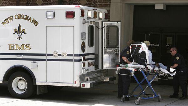 Une ambulance à La Nouvelle-Orléans - Sputnik France