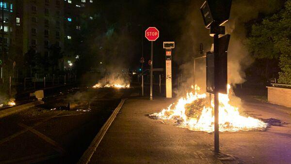 Situation à Argenteuil après la mort d'un jeune dans un crash de moto le 17 mai 2020 - Sputnik France