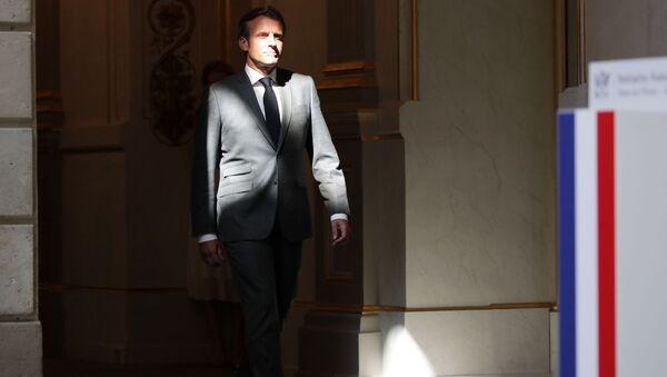 Emmanuel Macron - Sputnik France