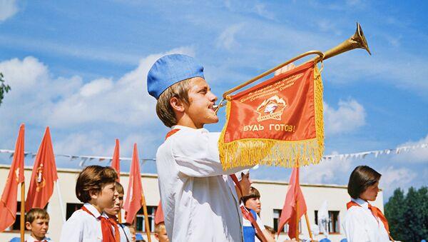 La vie des pionniers soviétiques en couleurs   - Sputnik France