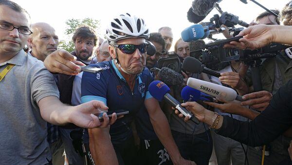 Lance Armstrong, un coureur cycliste américain, champion du monde sur route en 1993 - Sputnik France