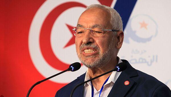 Rached Ghannouchi, leader du parti islamiste tunisien Ennahdha. - Sputnik France