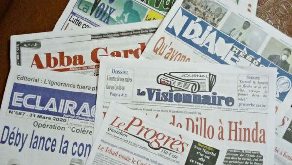 Les journaux du Tchad - Sputnik France