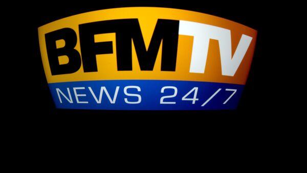 Logo BFMTV - Sputnik France