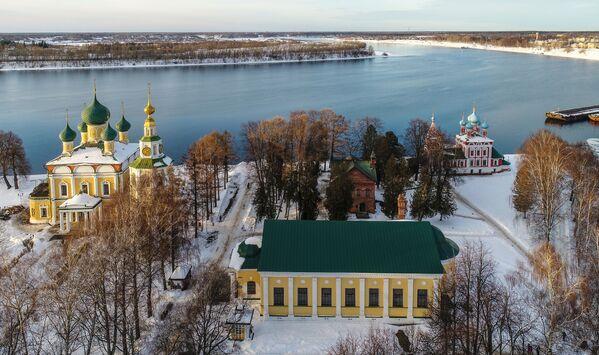 La Volga. Le grand fleuve russe en photos   - Sputnik France
