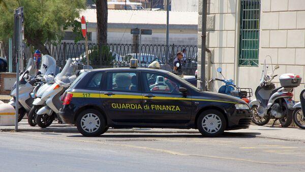 la police douanière et financière italienne, image d'illustration - Sputnik France