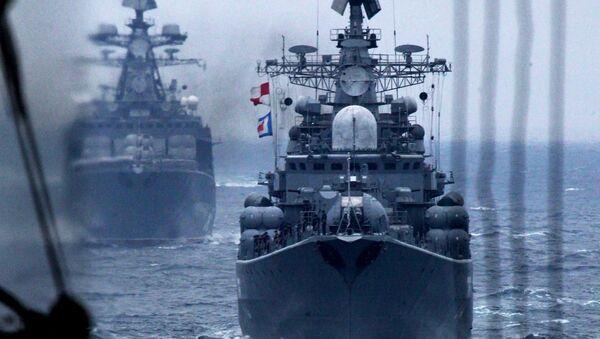 Les navires et sous-marins de la flotte du Pacifique russe   - Sputnik France