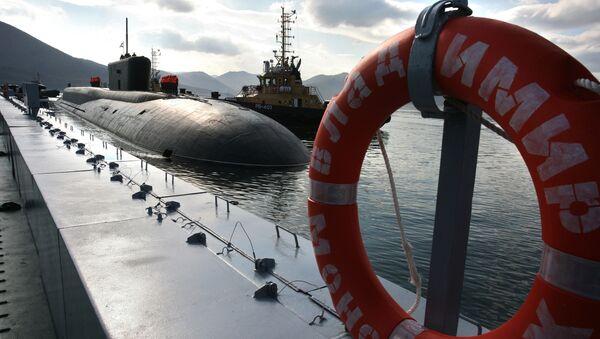 Sous-marin nucléaire russe, image d'illustration - Sputnik France