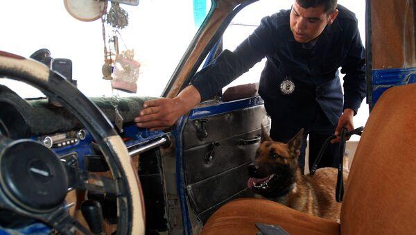 Un officier des douanes tunisien - Sputnik France