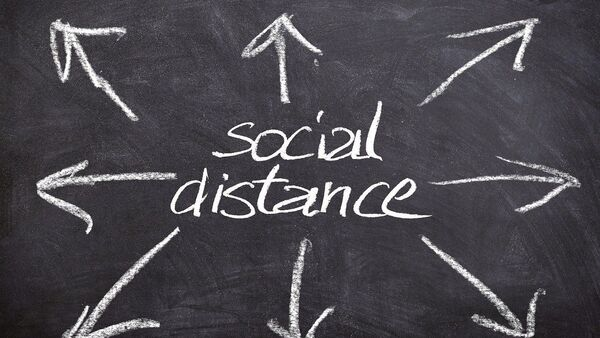 Distance sociale, image d'illustration  - Sputnik France