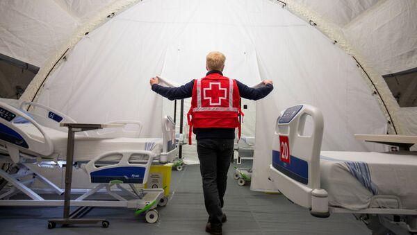 Un hôpital mobile à Montreal - Sputnik France