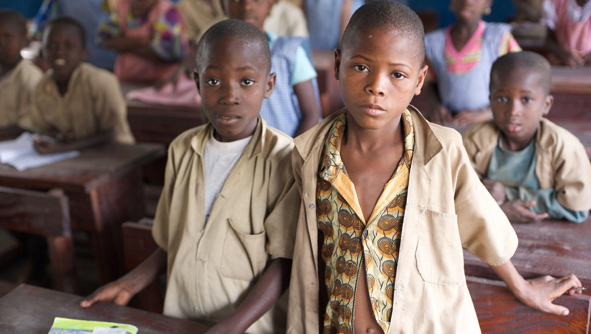 Les enfants en Afrique, image d'illustration - Sputnik France, 1920, 23.06.2021