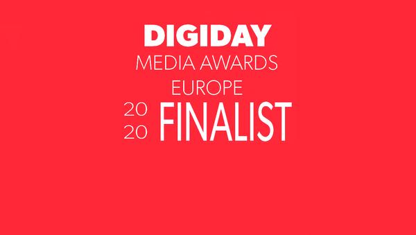 Digiday Media Awards Europe Finalist - Sputnik France