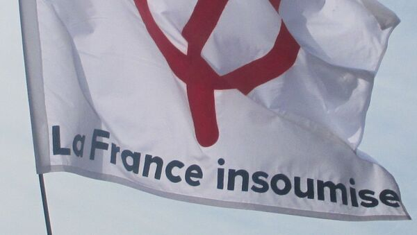 Drapeau de La France insoumise - Sputnik France